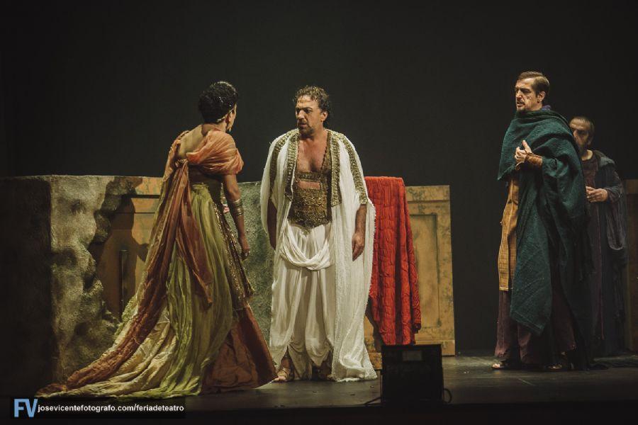 Edipo Rey en la XVIII Feria de Teatro de Castilla y León