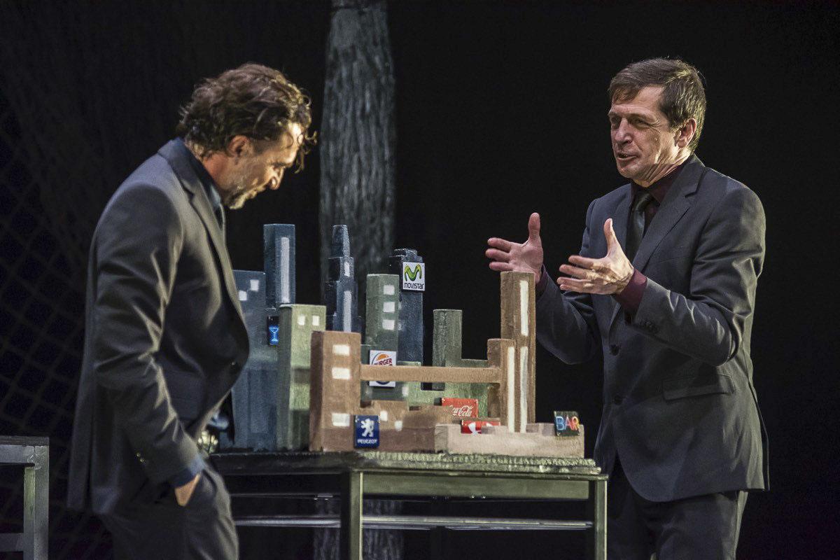 Contra la democracia. José Vicente Moirón y Gabriel Moreno. © Teatro del Noctámbulo