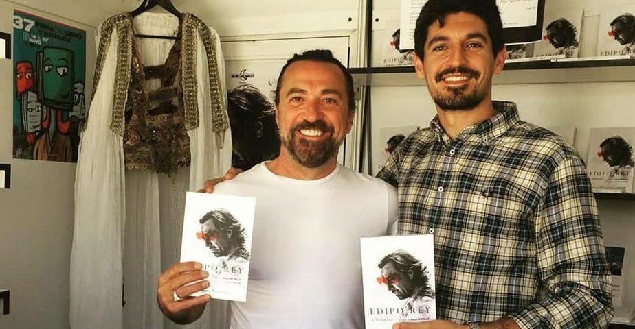 Edipo Rey, el libro, presentado por José Vicente Moirón y David Matías