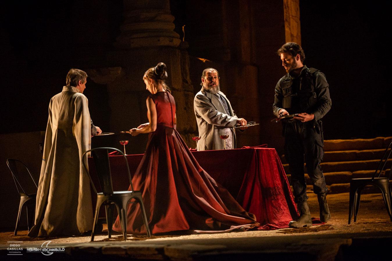 Tito Andrónico, de William Shakespeare. © Teatro del Noctámbulo · Festival Internacional de Teatro Clásico de Mérida 2019
