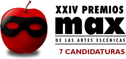 7 candidaturas a los XXIV Premios max por Tito Andrónico